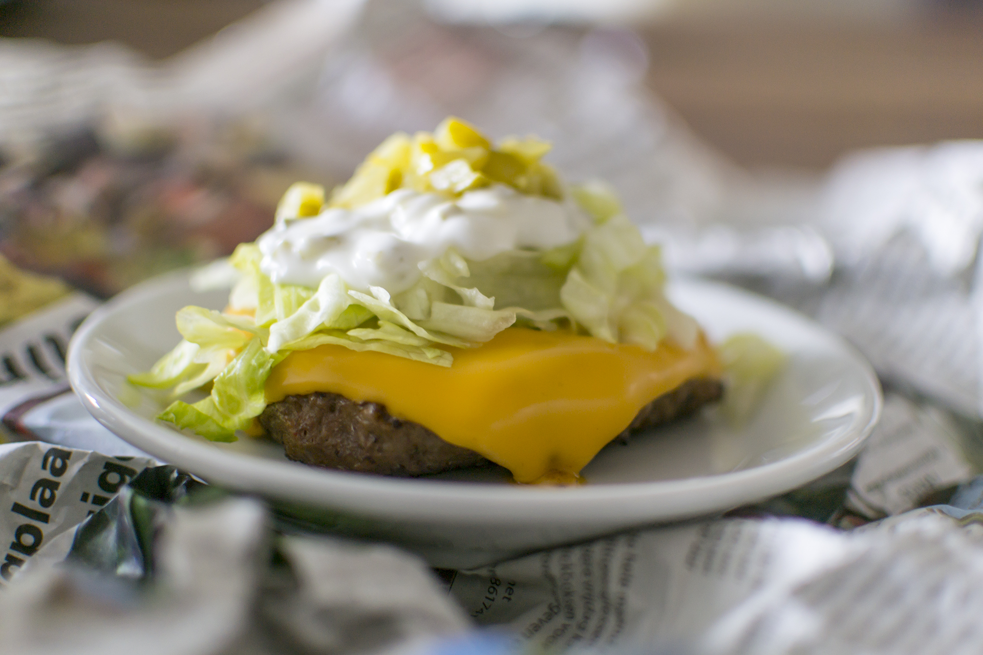 Lowcarb Hamburger