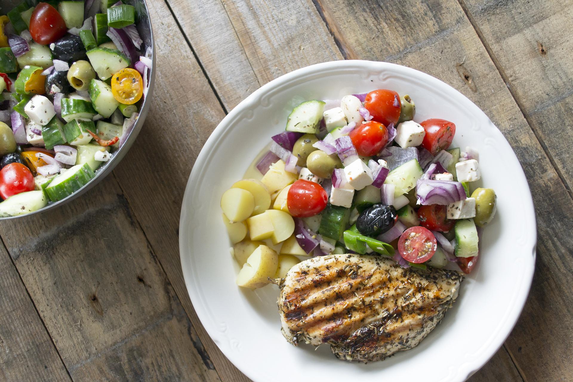 Griekse maaltijd