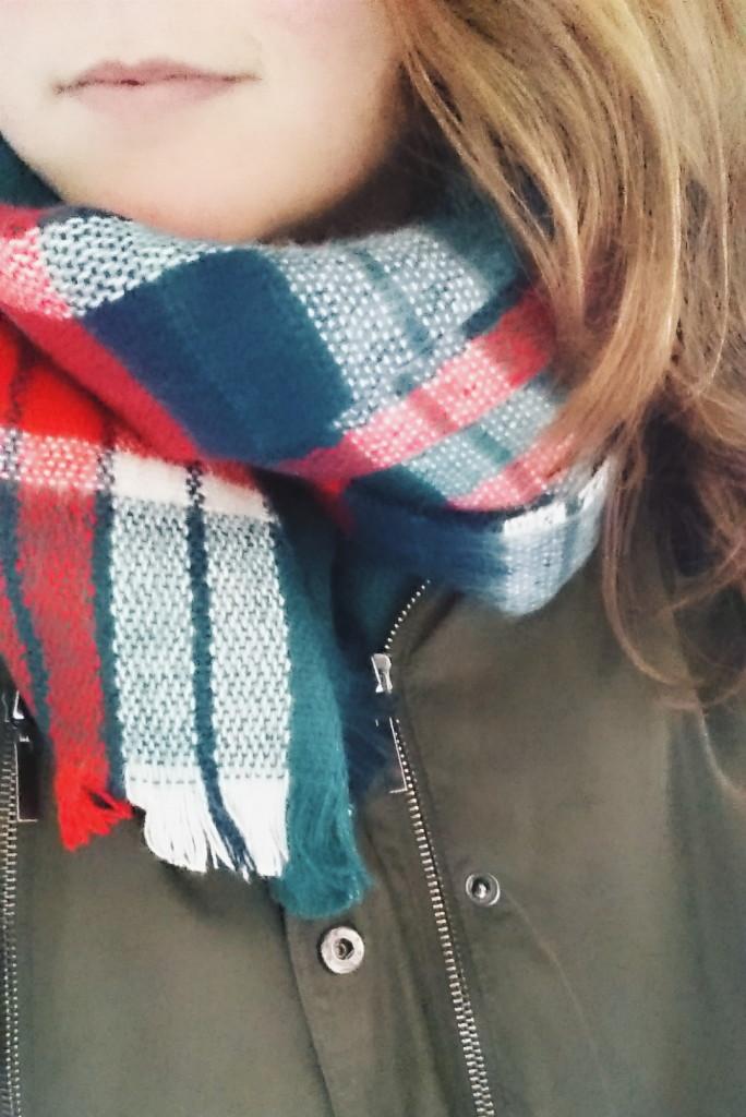 Nieuwe sjaal!