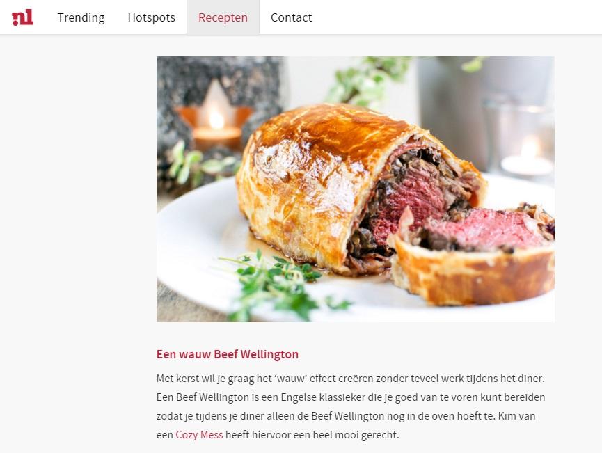 nieuws beef wellington