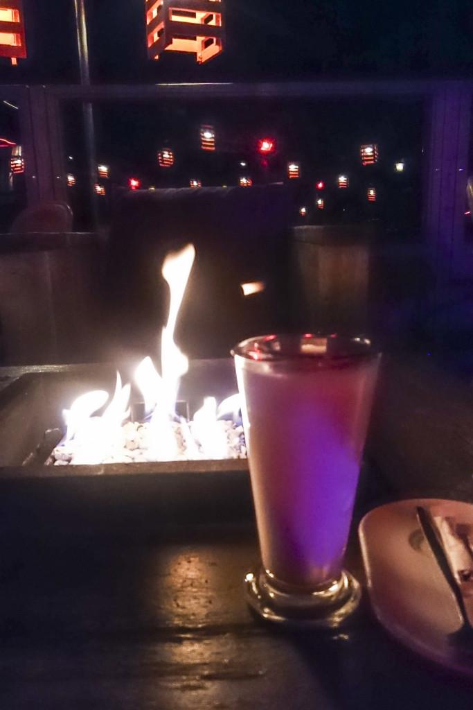 Nope, dat is geen lekkere cocktail... Maar een Chai Latte :p