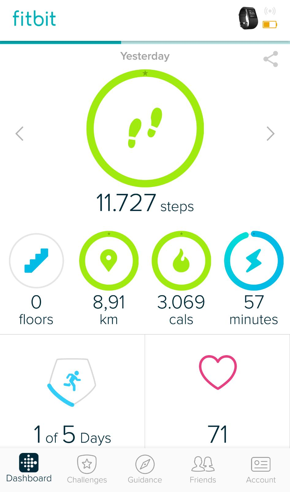 Activity Tracker - Fitbit