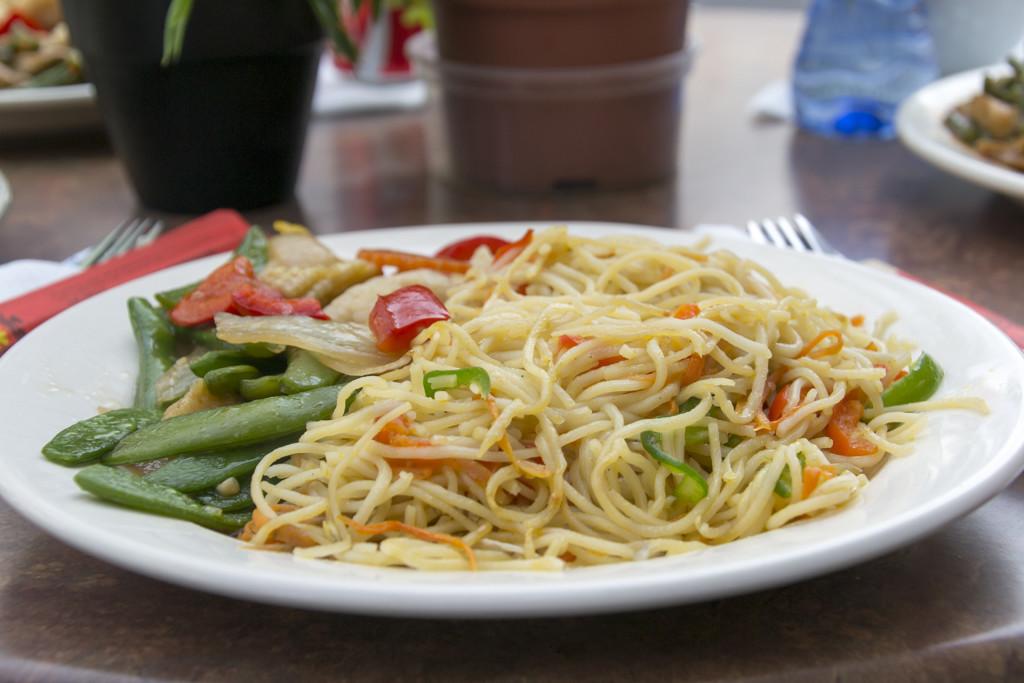 vega dag 15 lunch
