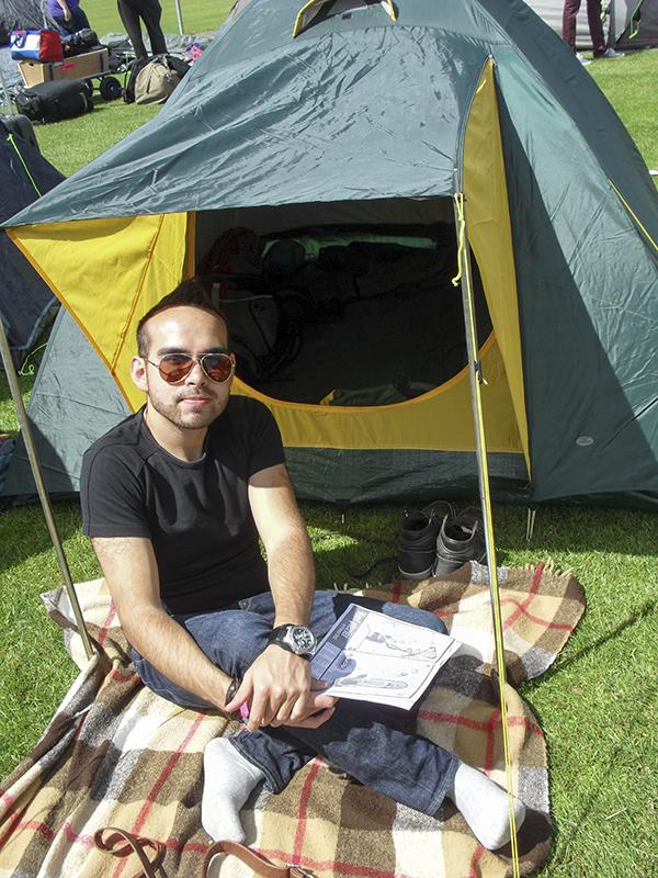 Festival tent
