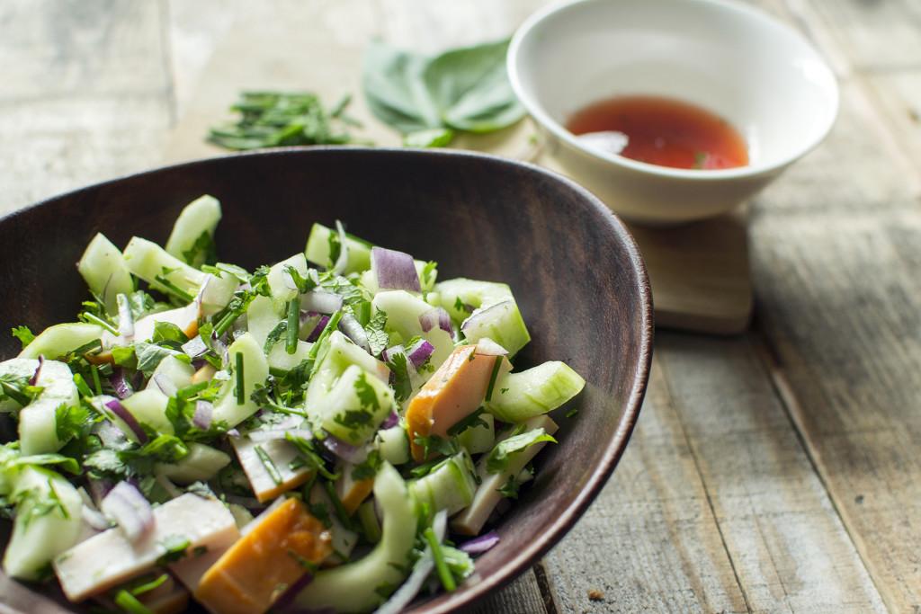 Thaise salade 1