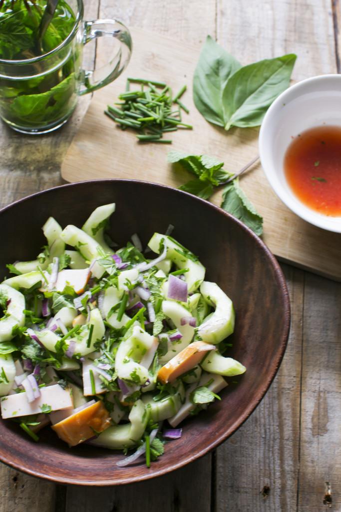 Thaise salade 2