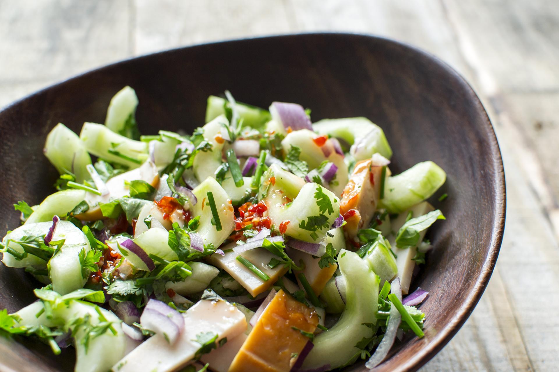frisse salade recepten