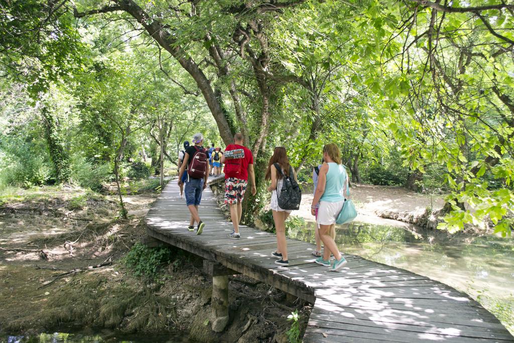 In Nationaal Park Krka was ik nog nooit eerder geweest. Normaal gaan we altijd naar Plitvice, maar Krka was ook mooi!