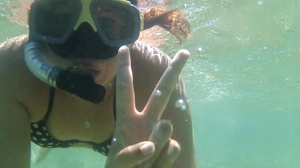 Onderwater selfie!