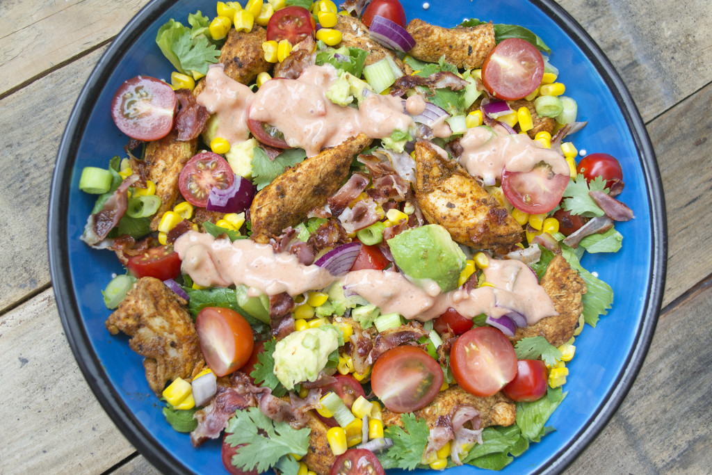 taco kip salade 2