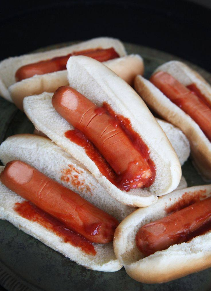 bloodyfinger hotdogs