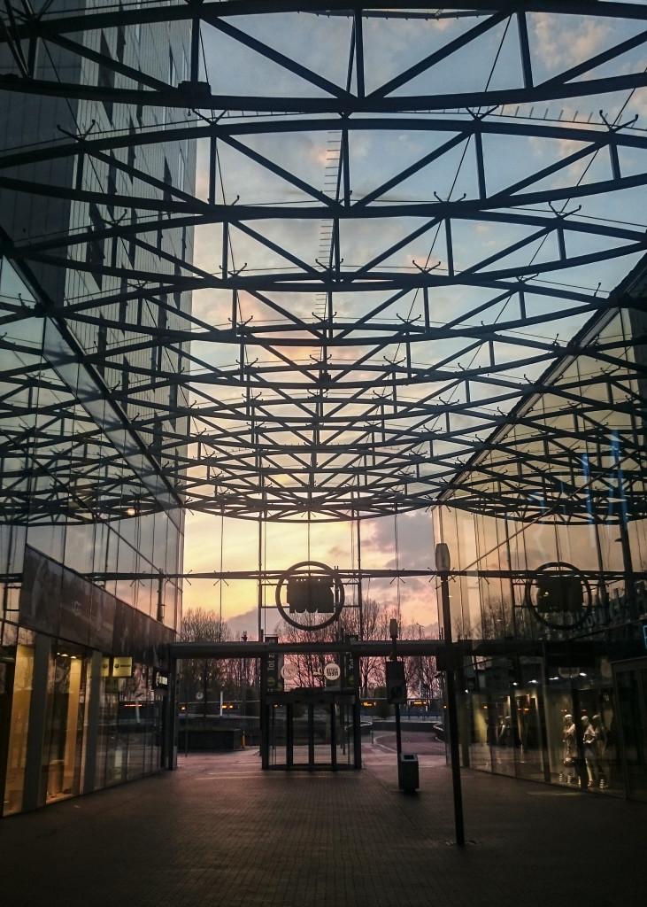 Mooie lucht in het winkelcentrum van Zoetermeer!