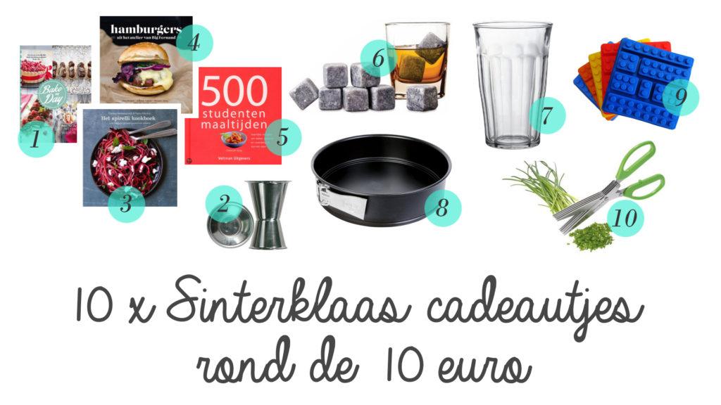 Sinterklaas cadeautjes rond de 10 euro