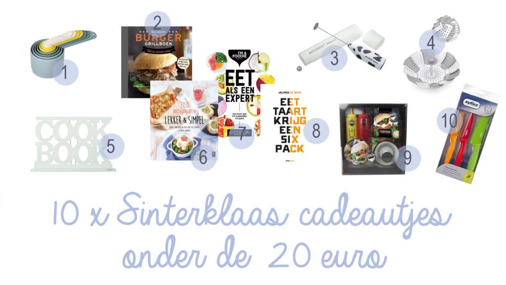 sinterklaas cadeautjes onder de 20 euro