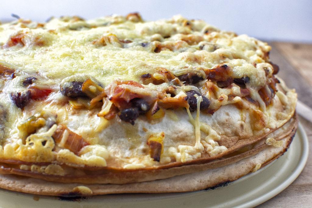 Tortillataart met kip