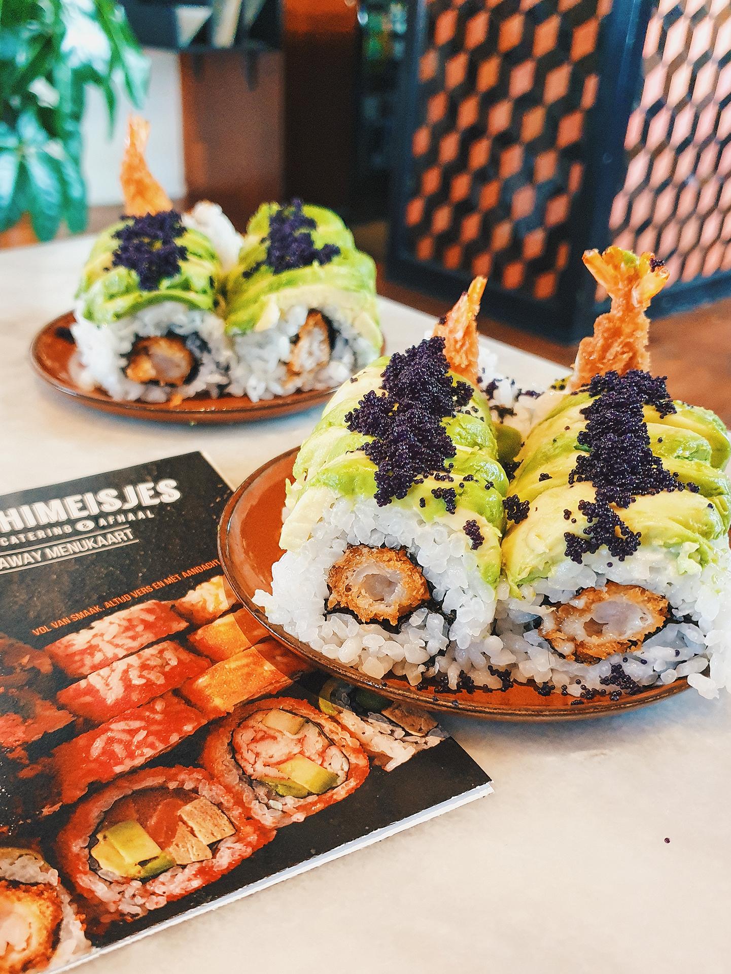 date idee samen sushi maken