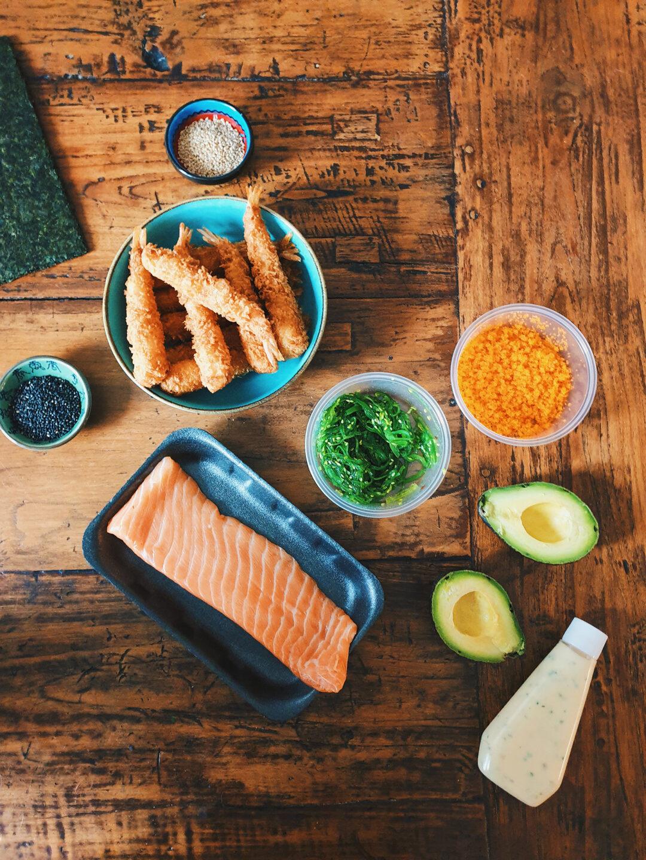 samen sushi maken